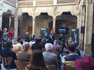 Presentación del festival en la Biblioteca de Las Conchas