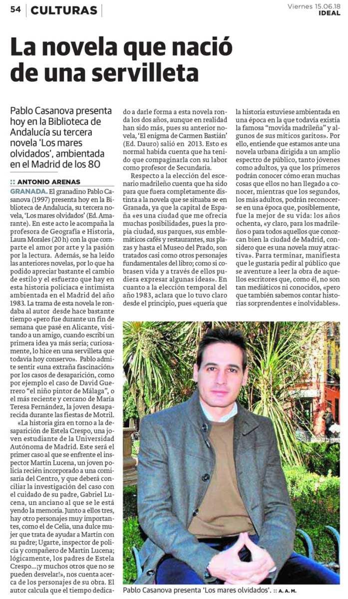 Editorial Amarante - Pablo Casanova - Los mares olvidados
