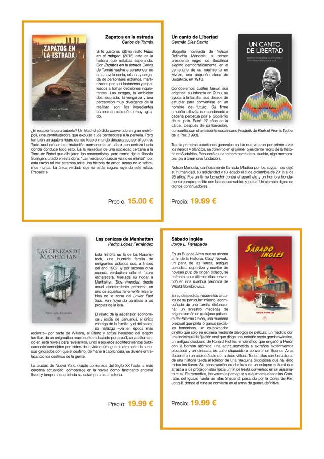 Editorial Amarante - ACALANDA Magazine - Catalogo novedades verano 2018