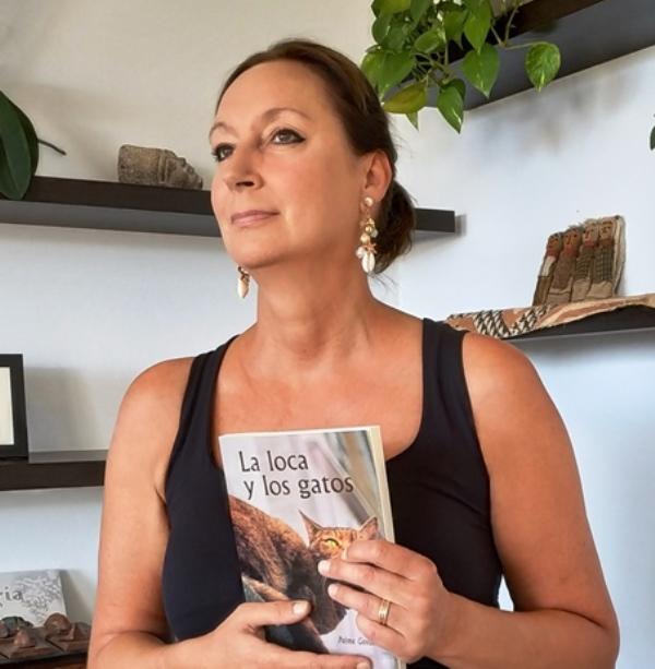 De gatos, amores y giros de la vida nos habla Palma Govaert