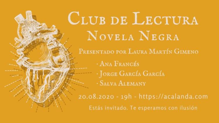 Club de Lectura: Novela Negra
