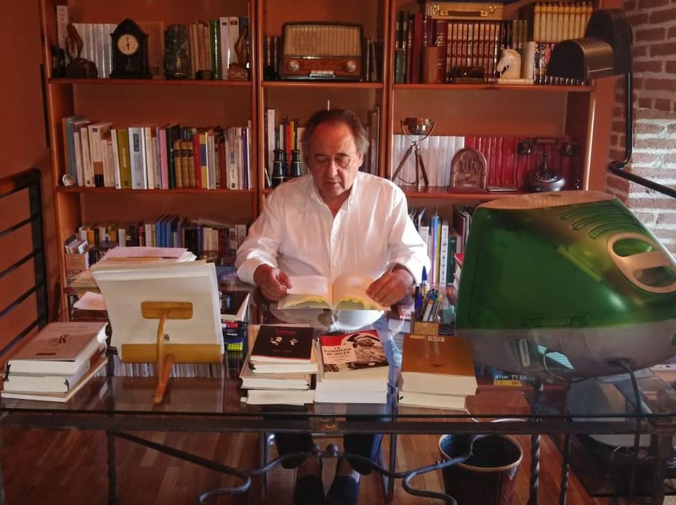 """Luis Melero autor """"Retazos de ayer (antología del autor)"""" y """"El silencio de la lengua"""""""