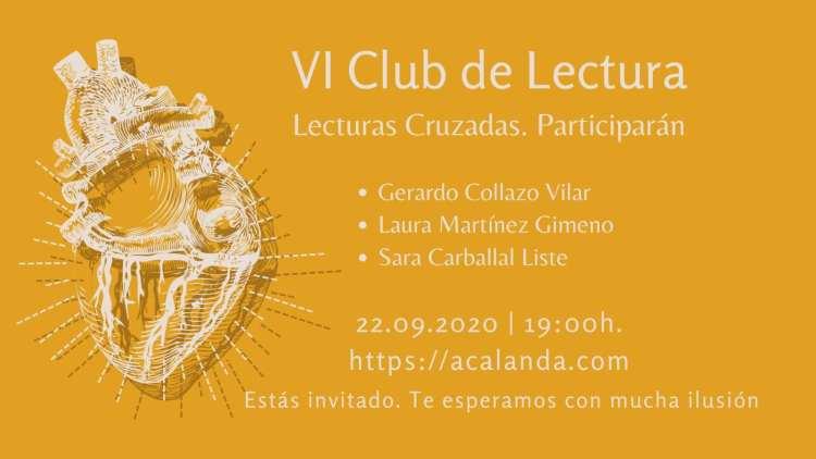 VI Club de Lectura: Lecturas Cruzadas