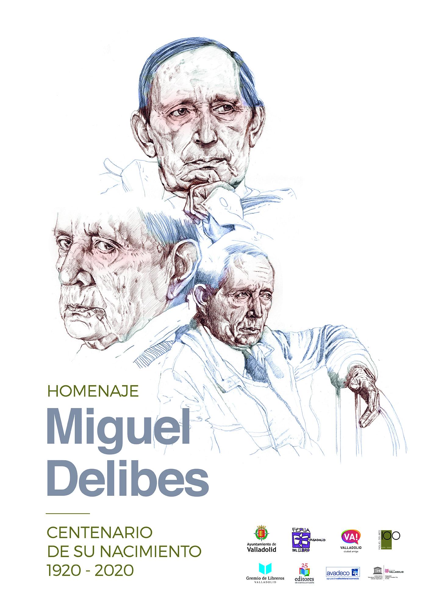 Valladolid - Feria Libro 2020 - Programa - Miguel Delibes