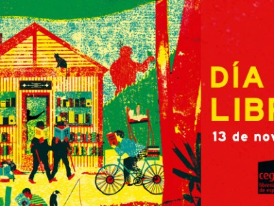Día de las Librerías - Dia de les llibreries – Liburu-denden Eguna – Día das librarías