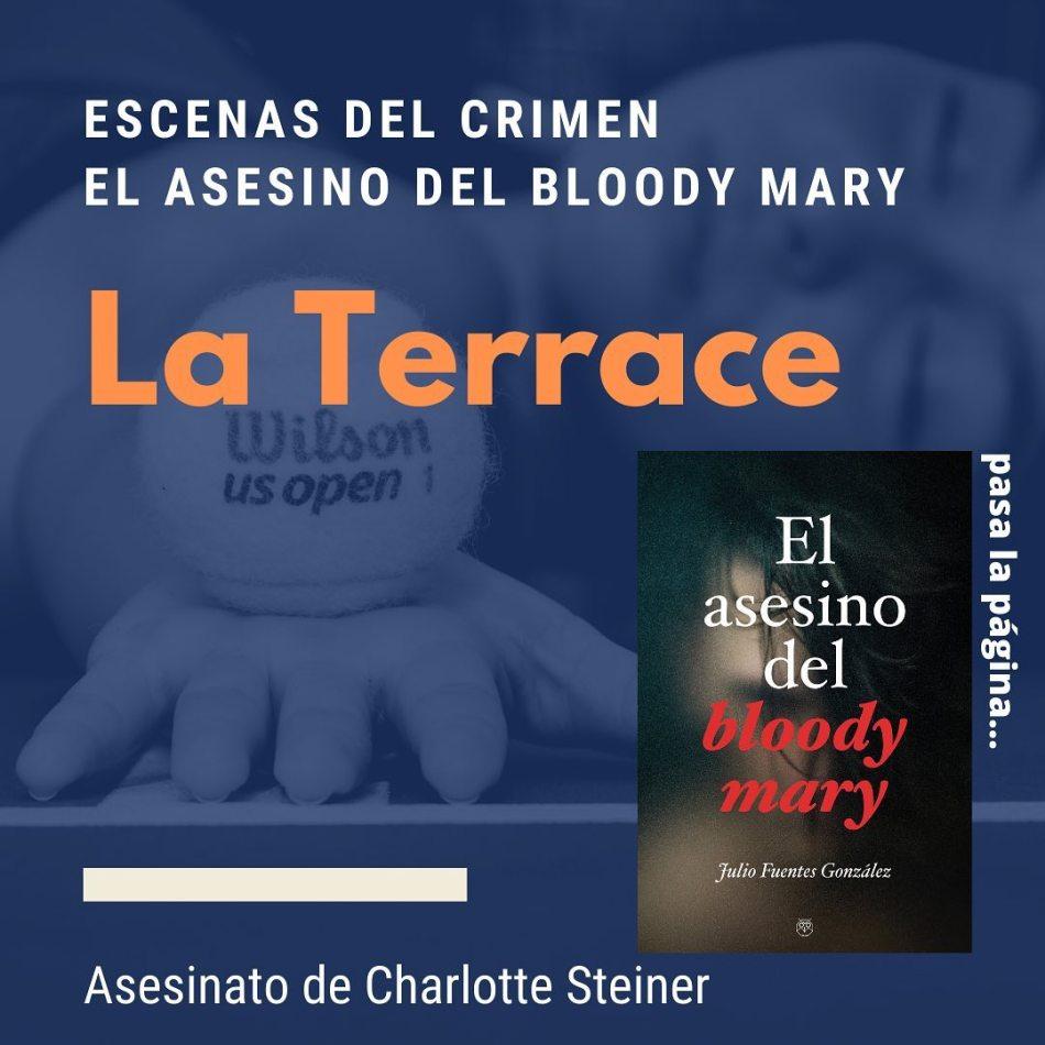 El asesino del bloody mary - Julio Fuentes González - Editorial Amarante