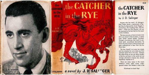 Cubierta de la primera edición de The Catcher in the Rye