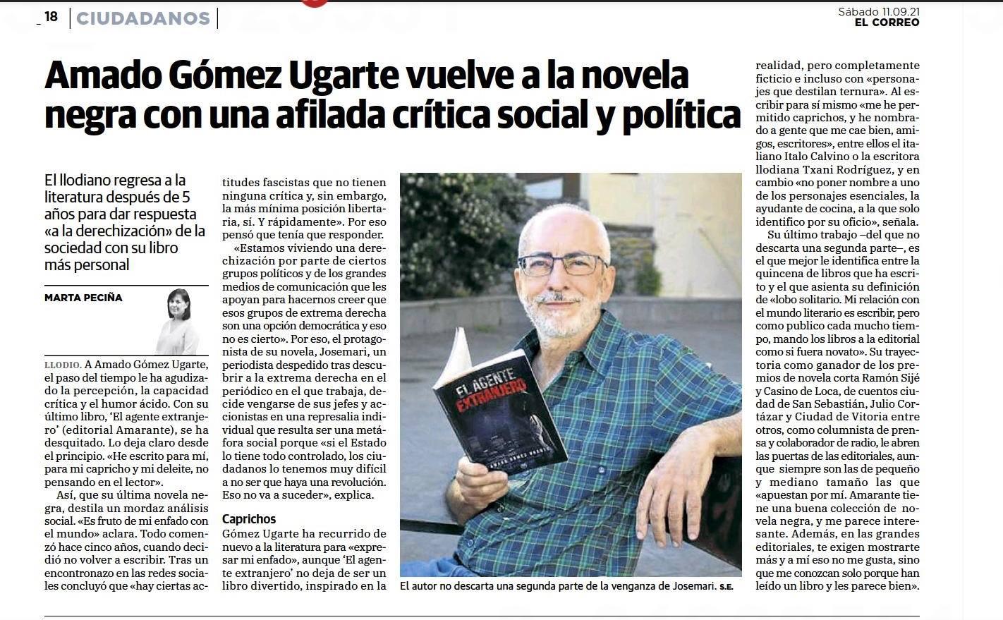 El Correo - Editorial Amarante - Amado Gómez Ugarte