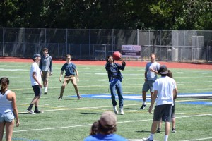 Staff and Students Bond Over Kickball Game