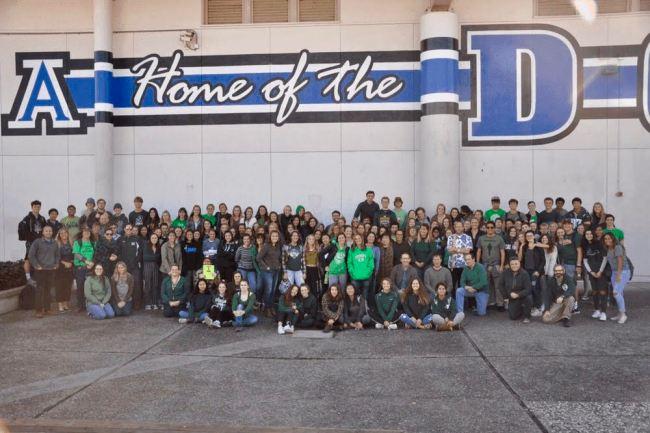 District Wears Green in Light of Miramonte High School Tragedy