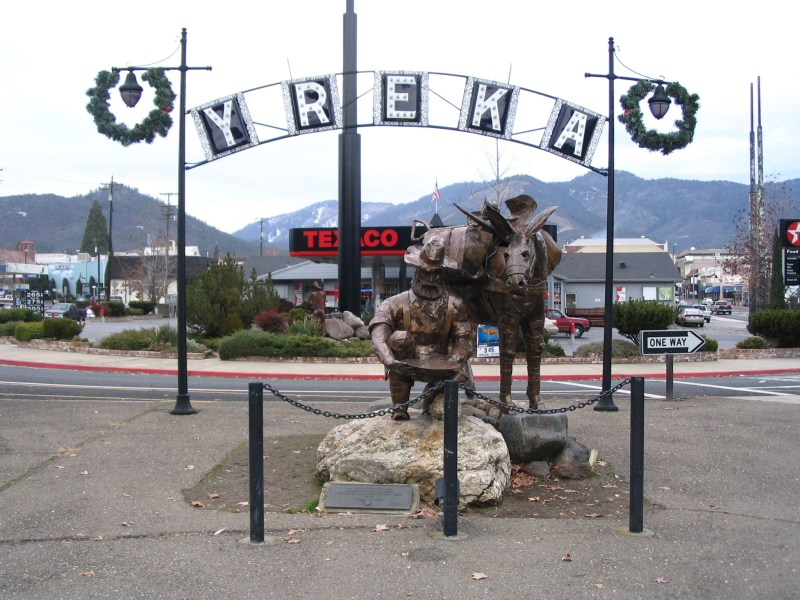 We Were Stranded in Yreka Without a Car. Here's how I kept busy and saw the city on foot.