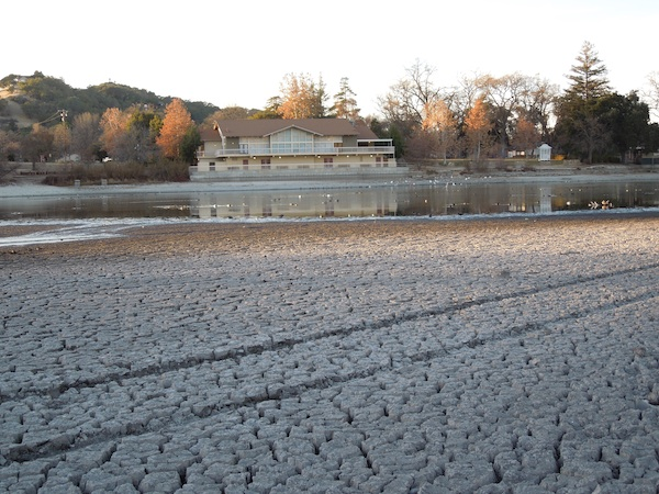It's Sad to See Atascadero Lake So Shallow