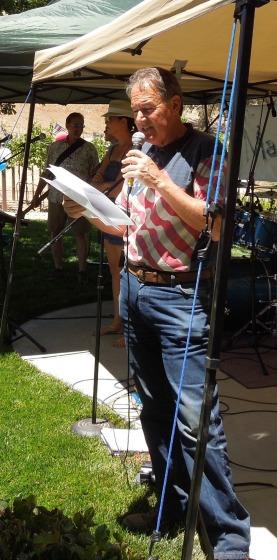 Dr. Warren Frankel at 2014 Independence Day Party, © B. Radisavljevic