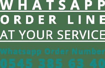 Aca Metal Whatsapp Order Line - +90 545 385 63 40