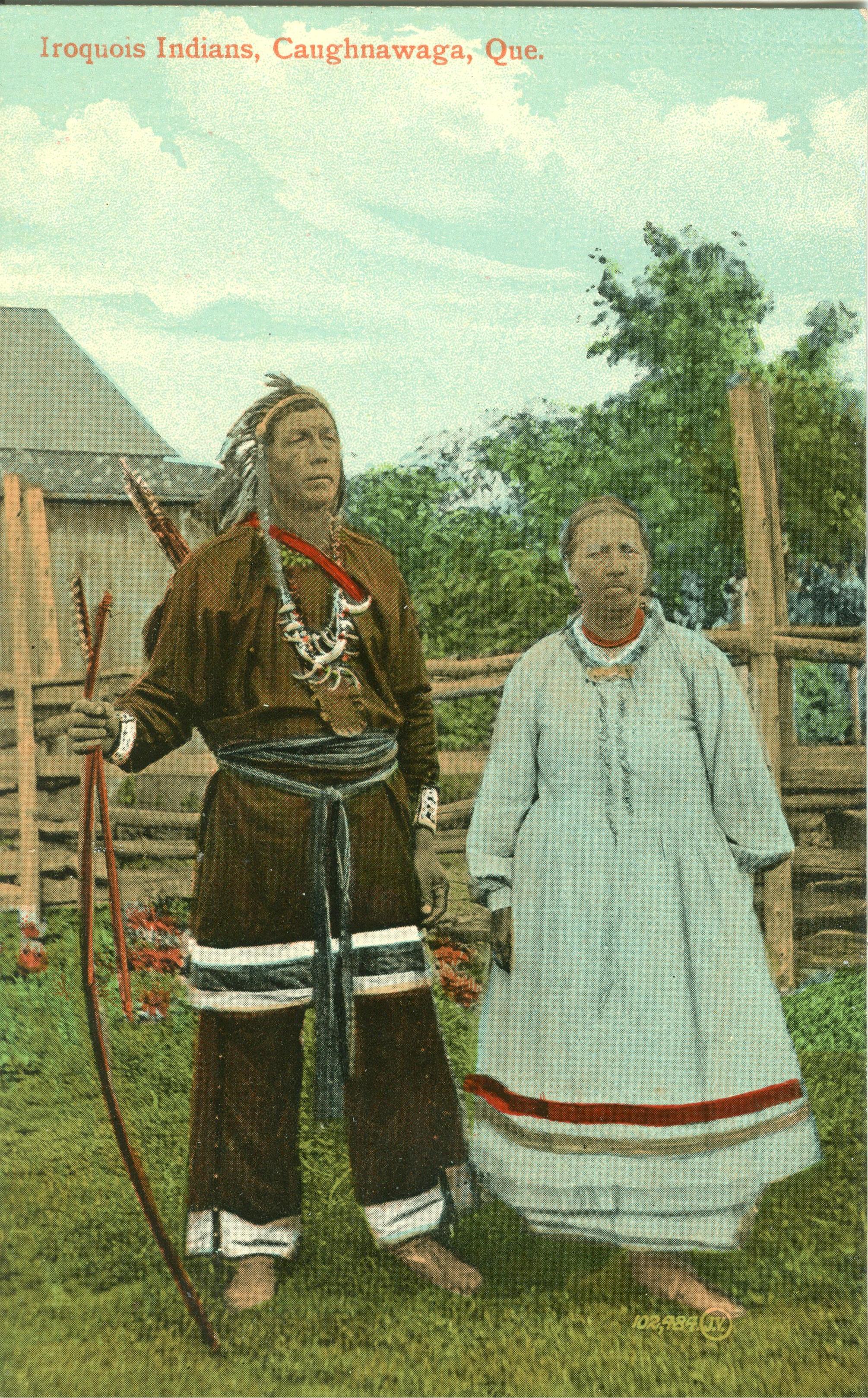 Iroquois Couple