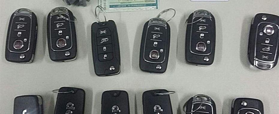 Funcionário da Fiat é preso após subtrair chaves de Jeep e Toro