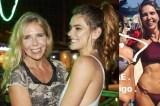 Sogra de Cauã Reymond chama atenção com barriga chapada e de biquíni na web