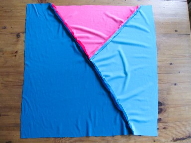 DIY// Comment coudre un coussin en velours patchwork // how to make a velvet patchwork cushion