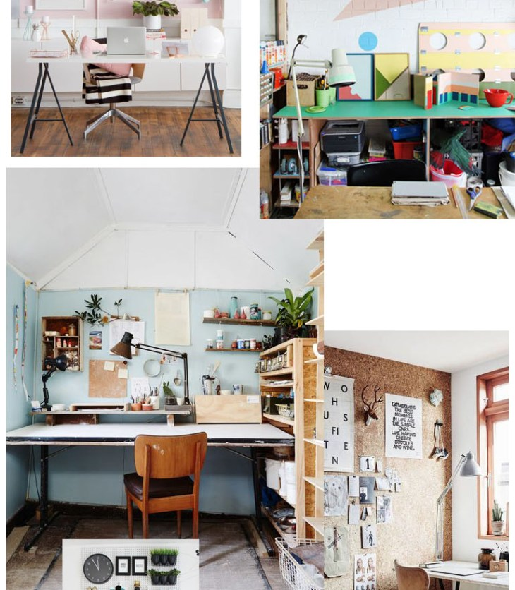 Inspiration Atelier / Workspace inspo