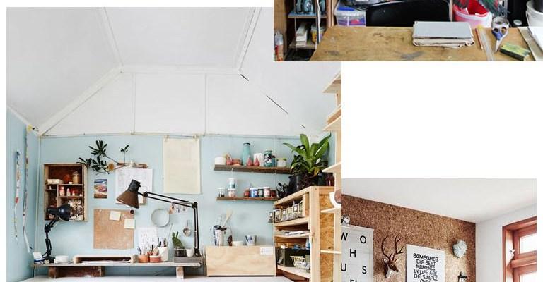 Inspiration Atelier / Workspace inspo