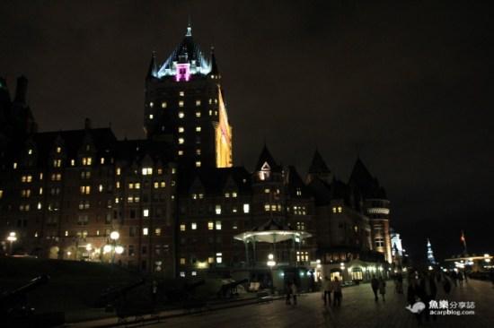 城堡飯店夜景