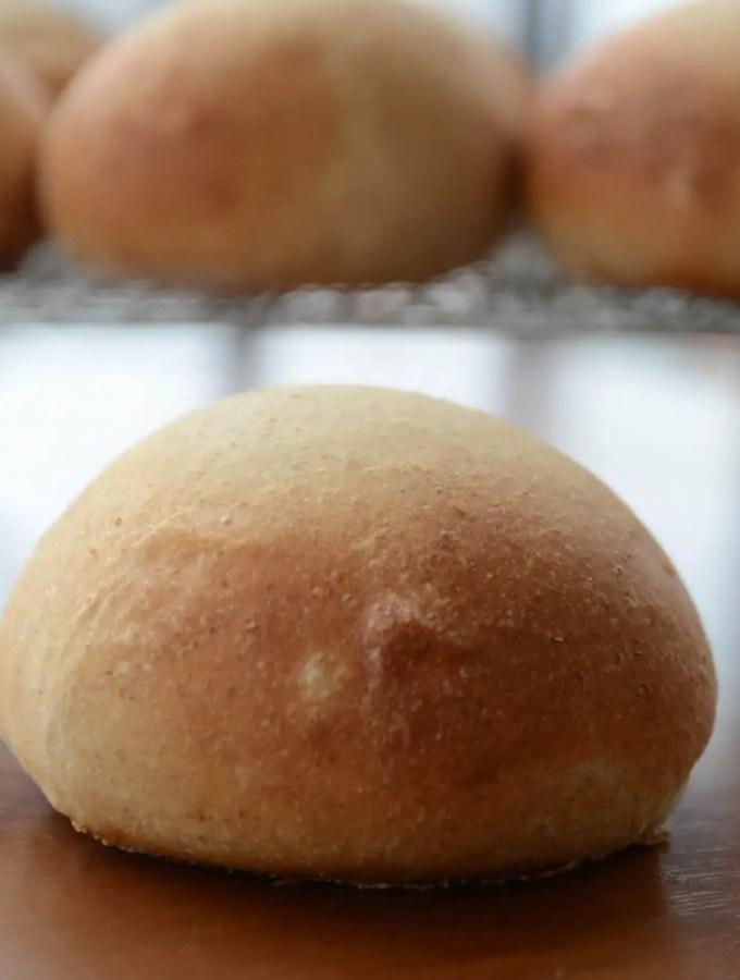 Pão de Hambúrguer Caseiro!