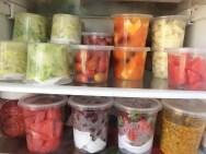 Como organizar frutas e legumes na geladeira