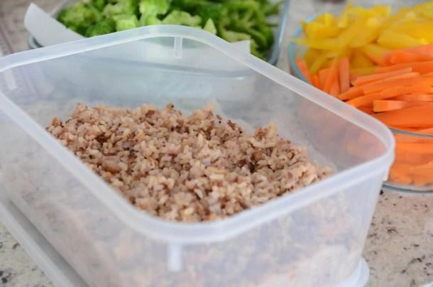 como preparar refeições para a semana