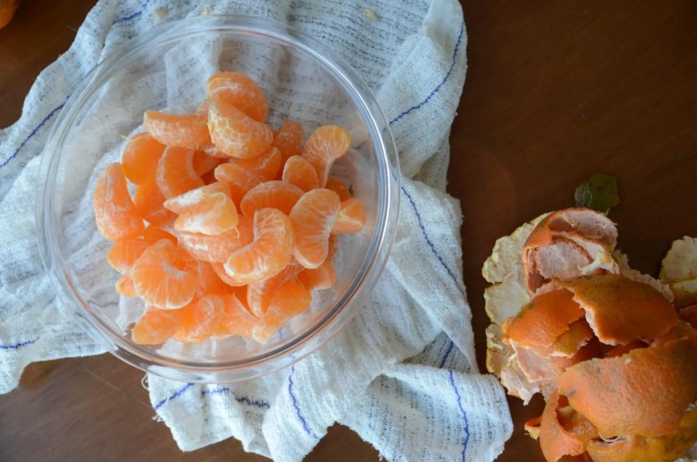 como fazer conserva de tangerina - tangerina em calda