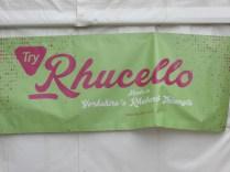 Rhucello - rhubarb liqueur