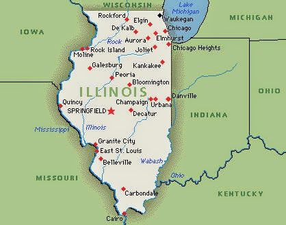 A to Z Challenge, Day 9:  I Is For Illinois