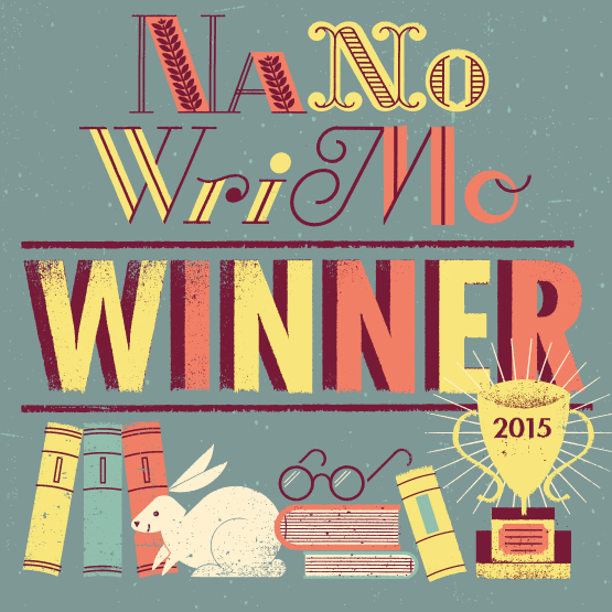 Wait, Wha…?  It's December?  or, I Won NaNo!