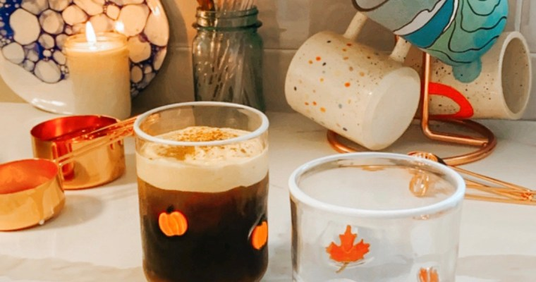 DIY Pumpkin Cream Cold Brew 2 Ways