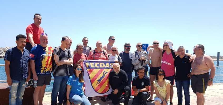 ACBEA y FECDAS – Bautizos de buceo con la Associació de Discapacitats Visuals de Catalunya 2019