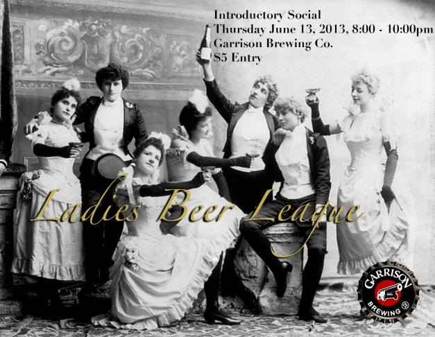 Ladies Beer League Inaugural Event June 13