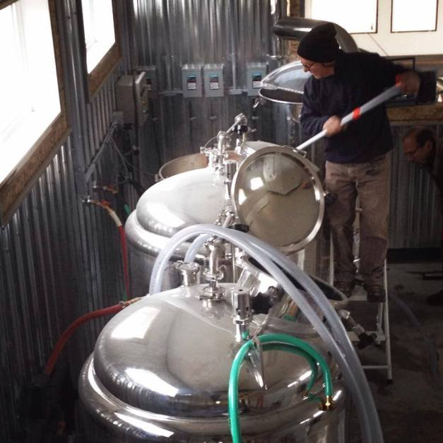 Brewing up the Lunchbox Pale Ale
