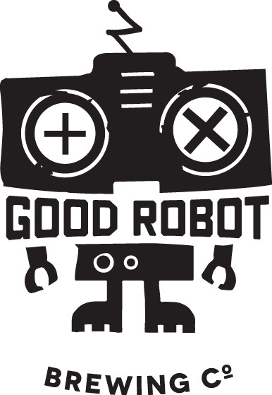 Good Robot Logo - Black Text