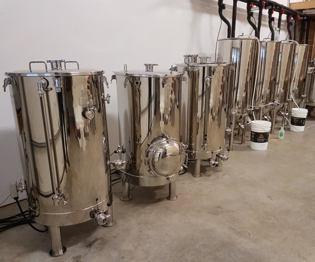 The Niche Brewhouse, from Stout Tanks