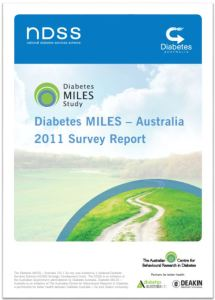 Diabetes MILES-Australia 2011 Survey Report