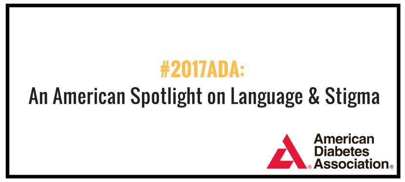 An American spotlight on language and stigma