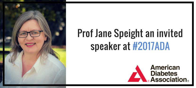 Prof Jane Speight an invited speaker at #2017ADA