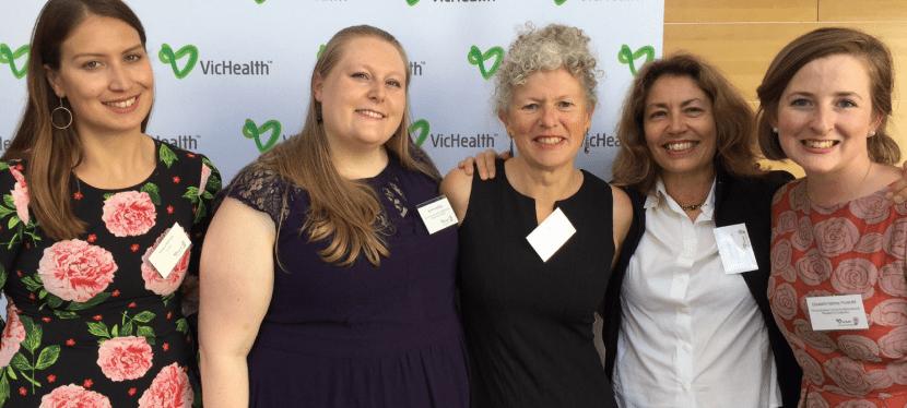 2017 VicHealth awards finalist