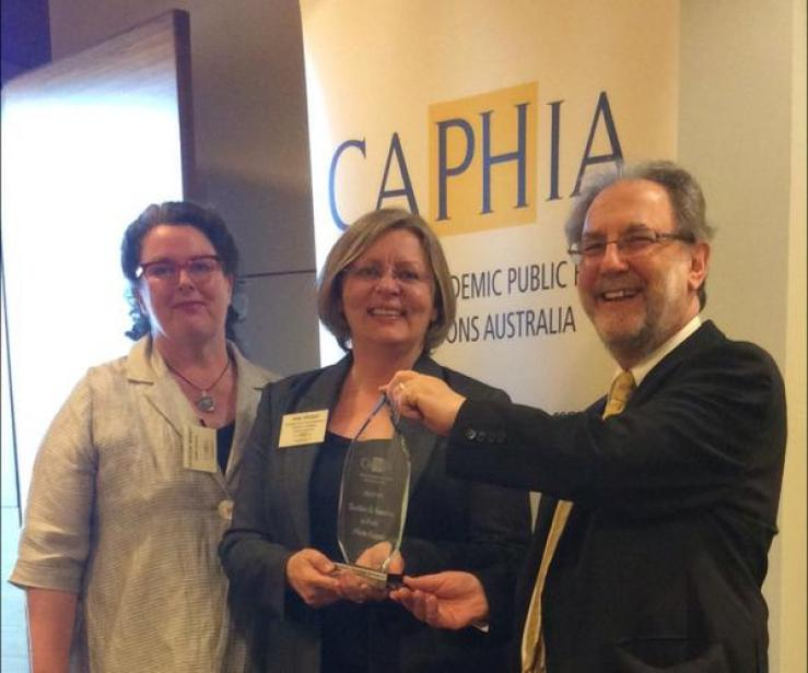 2014 CAPHIA award