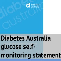 Diabetes Australia glucose self-monitoring statement
