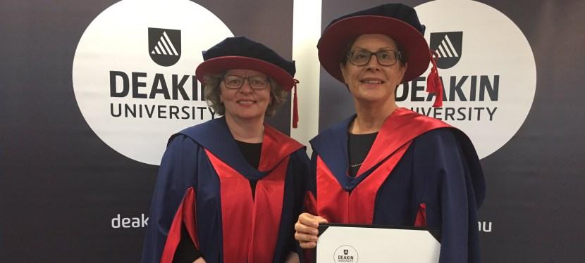 The ACBRD celebrates the graduation of Dr Virginia Hagger