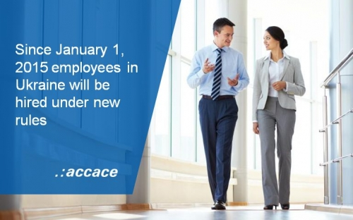 Changes to Employment Law of Ukraine in 2015