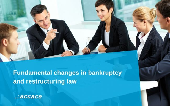 Fundamental changes in bankruptcy and restructuring law