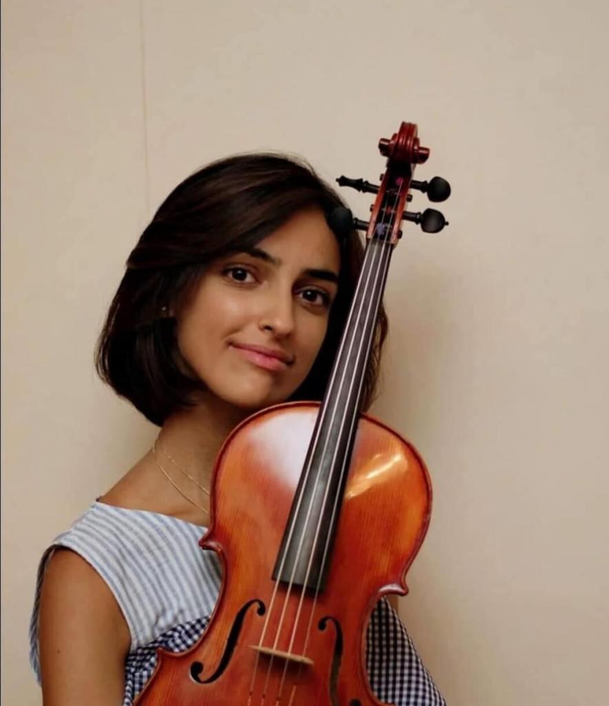 Ilaria Soldo - violista allieva di Silvia