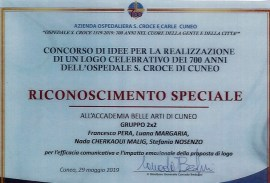Attestati di merito per gli allievi ABA Cuneo - menzione speciale