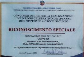 Attestati di merito per gli allievi ABA Cuneo – menzione speciale